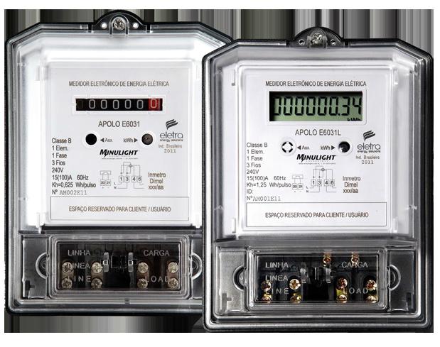 Medidor Eletrônico De Energia Apolo 6031 E 6031L