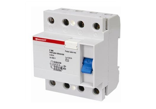 disjuntor diferencial residual-interruptor diferencial residual