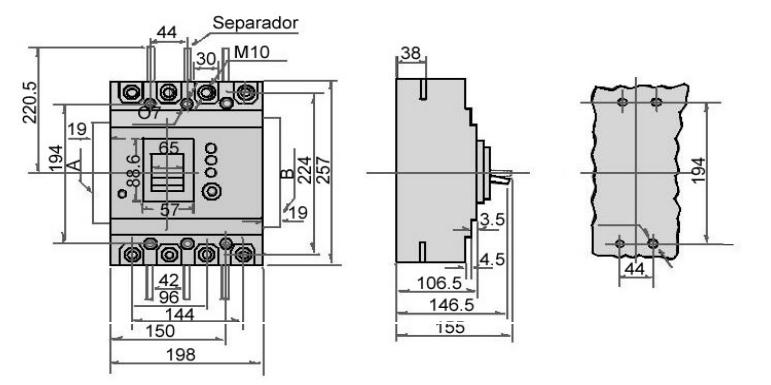 DisjuntorDDR-MLELCB400M