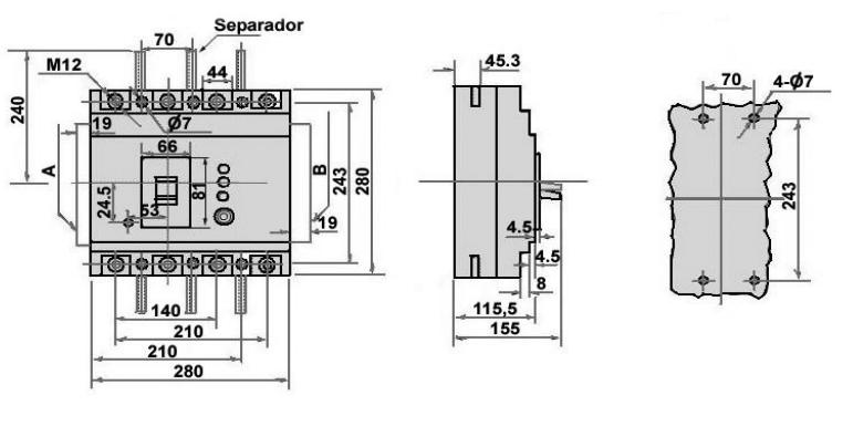 DisjuntorDDR-MLELCB630M