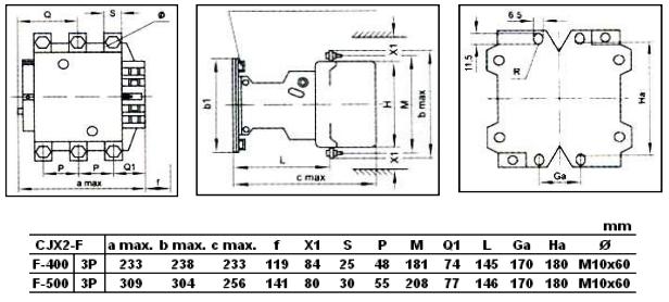 CJX2-F400