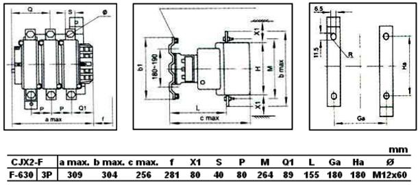 CJX2-F630