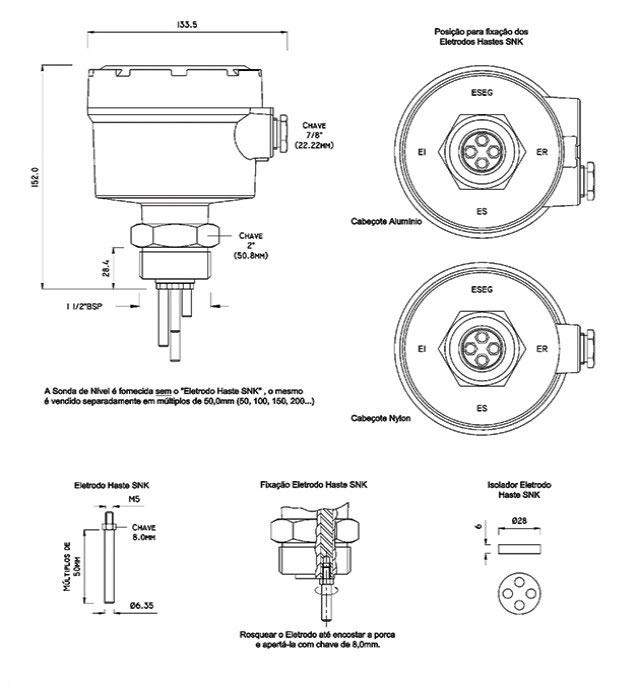 Sensores-de-nivel-condutivos-KPN-A-dimensoes