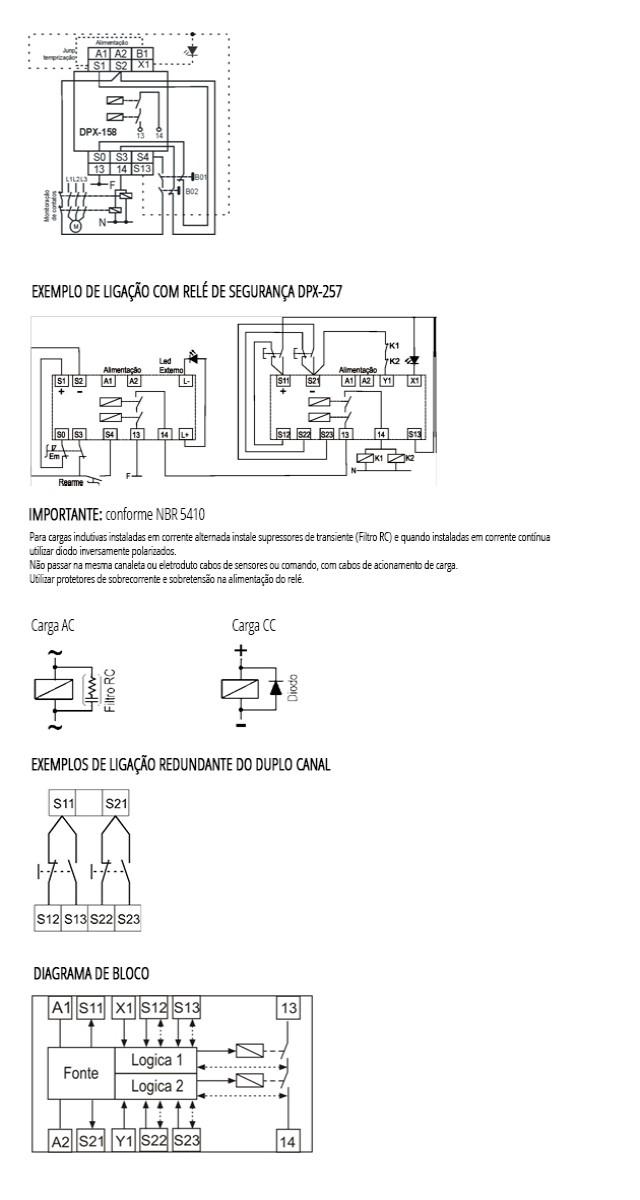 rele-microprocessado-De-Acionamento-Bimanual-DPX-158-ligacao