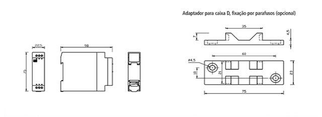 reles-de-nivel-eletronicos-microprocessados-DPX-114-dimensoes