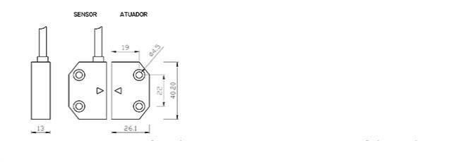 sensores-magneticos-e-atuadores-codificados-de-seguranca-NSMC-01-33-dimensoes