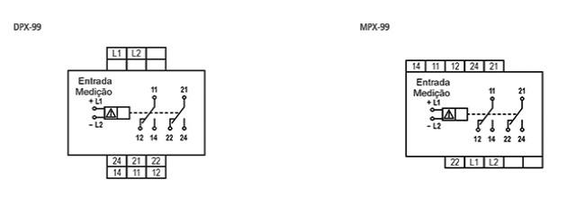 supervisor-de-tensao-monofasico-DPX-99-ligacao
