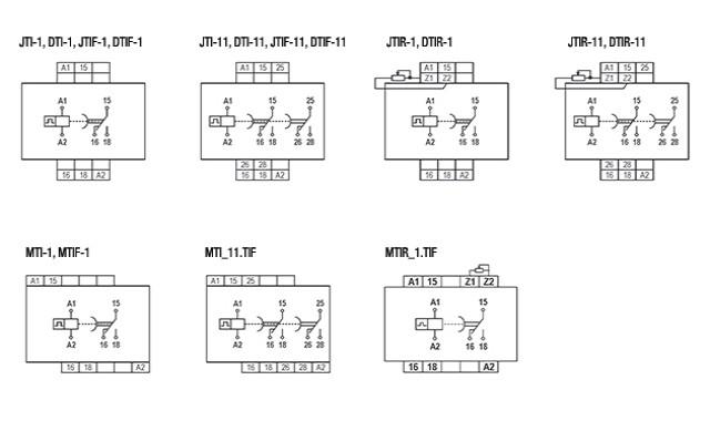 temporizadores-eletronicos-com-impulso-na-energizacao-tipo-jti-dti-mti-jtif-jtir-dtif-dtir-e-mtir-ligacao
