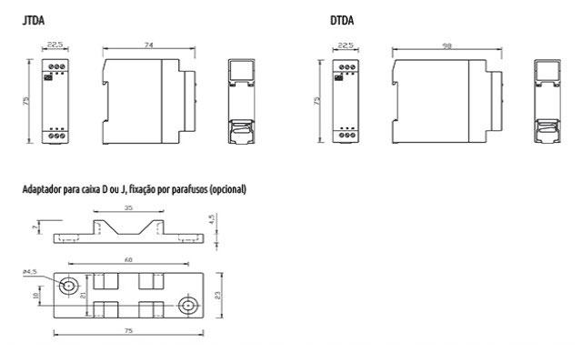 temporizadores-eletronicos-com-retardo-na-desenergizacao-tipo-jtda-e-dtda-dimensoes