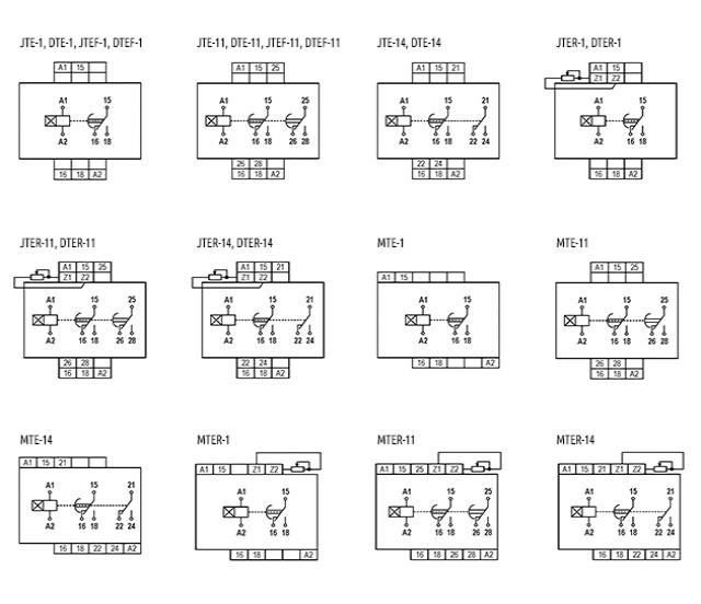 temporizadores-eletronicos-com-retardo-na-energizacao-tipo-jte-dte-mte-jtef-jter-dtef-e-dter-ligacao