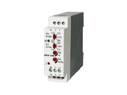 Supervisor trifásico tempo ajustável - Minulight Eletrotécnica